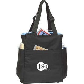 Quad Access Tote Bag Imprinted with Your Logo