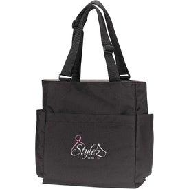 Customized Quad Access Tote Bag