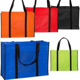 Qulited Tote Bag