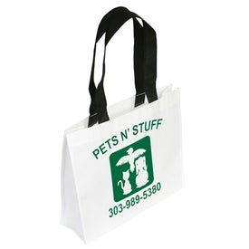 Customized Raindance Waterproof Coated Tote Bag