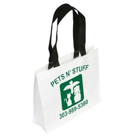Customized Raindance Waterproof Coated Tote Bag