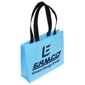 Printed Raindance Waterproof Coated Tote Bag