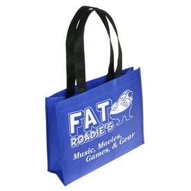 Raindance Waterproof Coated Tote Bag with Your Slogan
