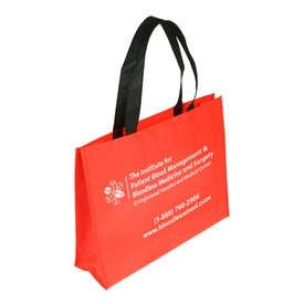 Custom Raindance XL Waterproof Coated Tote Bag