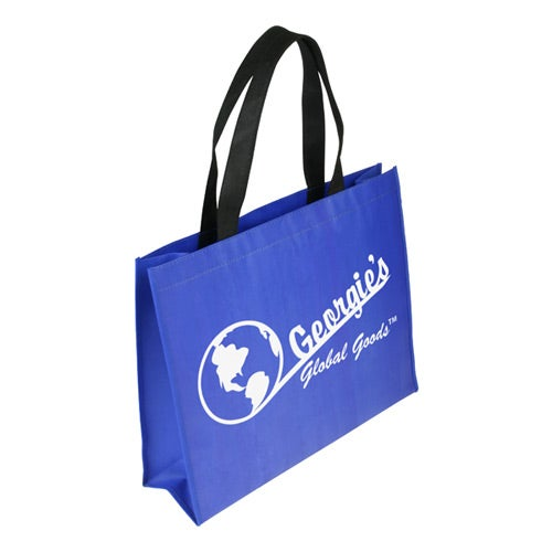 Royal Blue Raindance XL Waterproof Coated Tote Bag