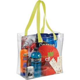 Rally Clear Tote Bag Branded with Your Logo