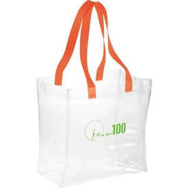 Rally Clear Tote Bag Printed with Your Logo
