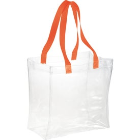 Rally Clear Tote Bag for Customization