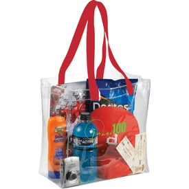 Printed Rally Clear Tote Bag