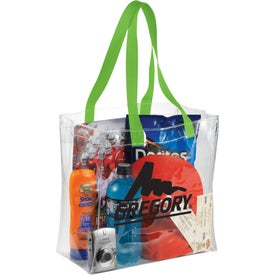 Branded Rally Clear Tote Bag