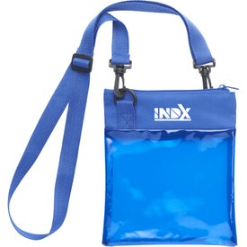 Rally PVC Crossbody Tote Bag