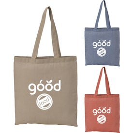 Recycled Cotton Twill Tote Bag