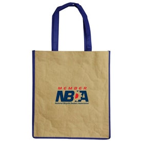 Branded Recycled Paper Tote Bag