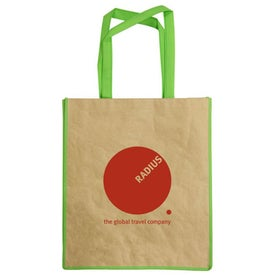 Recycled Paper Tote Bag for Advertising
