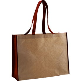 Recycled Paper Non-Woven Landscape Tote for Your Church