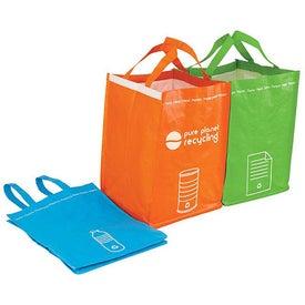 Recycling Bin Tote Set