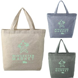 Recylced Cotton Twill Grocery Tote (5 Oz.)