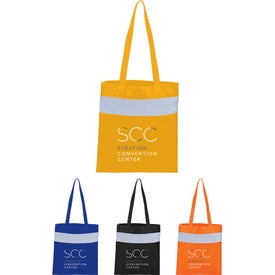 Reflective Convention Tote Bags