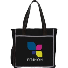 Reflective Frame Tote Bag