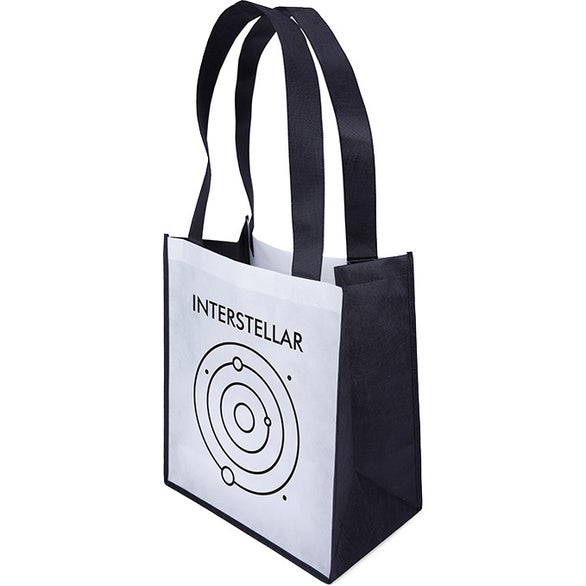 White / Black Renoir Tote Bag