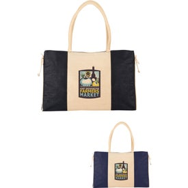 Resort Jute Tote Bag
