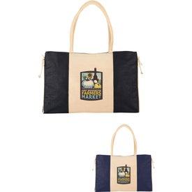 Resort Jute Tote Bag