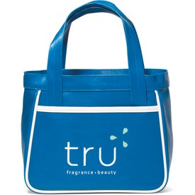 Monogrammed Retro Mini Fashion Tote Bag