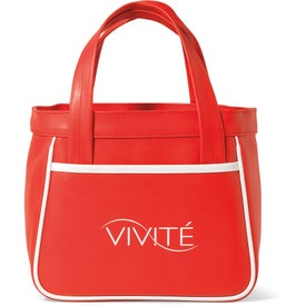 Retro Mini Fashion Tote Bag Imprinted with Your Logo