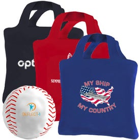 Customized Reusaball Baseball Tote Bag