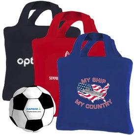 Reusaball Soccer Ball Tote Bag for your School