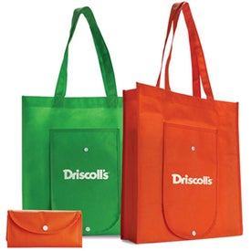 Reusable and Recyclable Folding Tote Bag