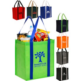 Reusable Non-Woven Grocery Tote Bag