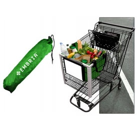 Imprinted Reusable Shopping Cart Bag