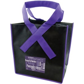 Ribbon Grocery Shopper Tote Bag for your School