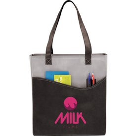 Branded Rivers Pocket Convention Tote