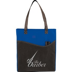Rivers Pocket Convention Tote with Your Slogan