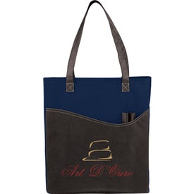 Imprinted Rivers Pocket Convention Tote