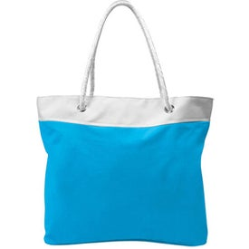 Personalized Rope Tote Bag