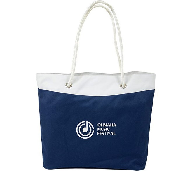 Navy / White Rope Tote Bag
