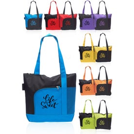 Rosella Tote Bag with Mesh Pocket