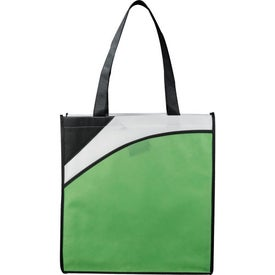 The Runway Conference Tote with Your Slogan