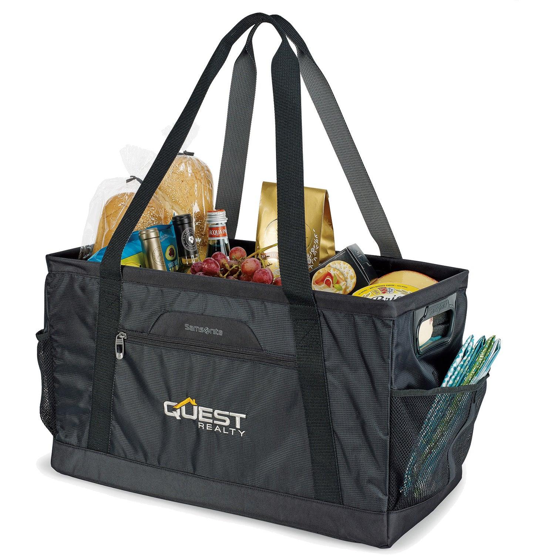 Black Samsonite Deluxe Utility Tote Bag Customized