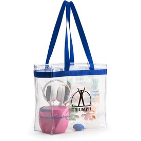 Scrimmage Stadium Clear Tote Bag for Marketing