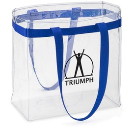 Scrimmage Stadium Clear Tote Bag with Your Slogan