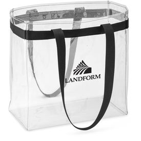 Scrimmage Stadium Clear Tote Bag Branded with Your Logo