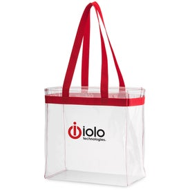 Scrimmage Stadium Clear Tote Bag