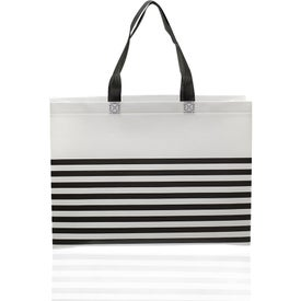 Seaside Striped Tote Bag