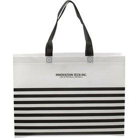 Seaside Striped Tote Bag