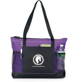 Printed Select Zippered Tote