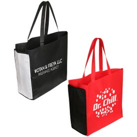 Shop N' Zip Foldable Tote Bag for Advertising